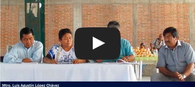 Debate con los candidatos a la presidencia de Tamazulapan